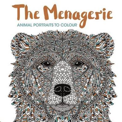The Menagerie Colouring book for adults