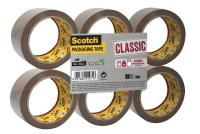 Scotch Clsc Pkg Tape Brwn PK6 CL5066F6B